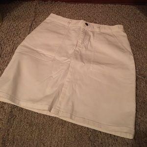 Lauren Ralph Lauren pencil skirt in white