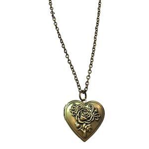 NECKLACE - Heart Shaped Locket