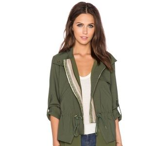 GREYLIN Olive Green Military Jacket