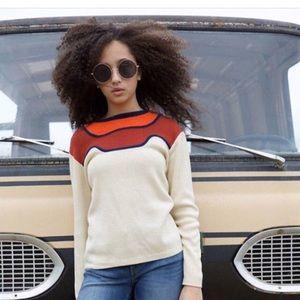 Vintage mod 1970's sweater