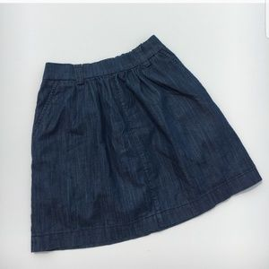 Level 99 Denim Mini Skirt