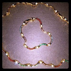 ❤Premier Design multicolored necklace set