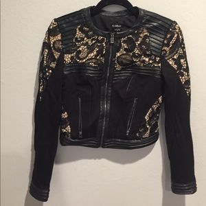 Bebe moto style jacket