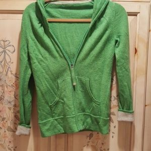 Cardigan Sweater cashmere merino wool