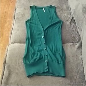 J. Crew bundle Green vest