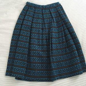 Vintage wool skirt
