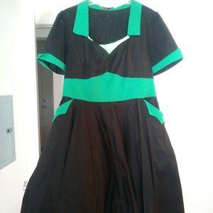 50s dress w/petticoat