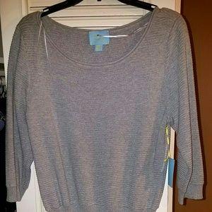 Cynthia Steffe sweater dress NWT sz L