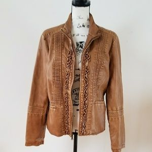 Big Chill Vintage faux leather jacket