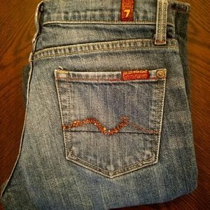 7FAMK 7 for all of mankind Bootcut jeans 31