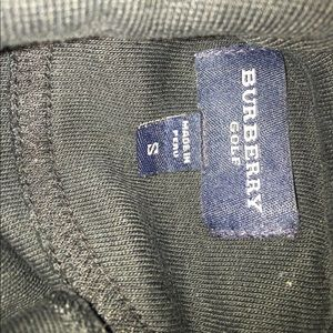 Burberry golf sweater