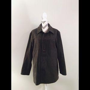 J. Crew Gray Wool Pea Coat