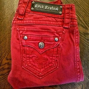 Rock revival holly skinny jeans size 26