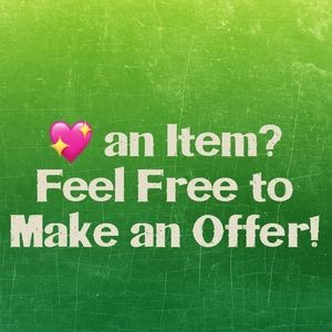 💖Make a Reasonable Offer!💖