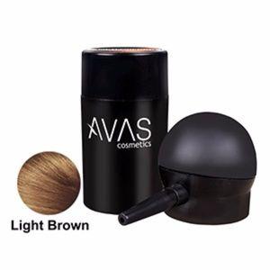 Hair Building Fiber Applicator Pump Light Brown