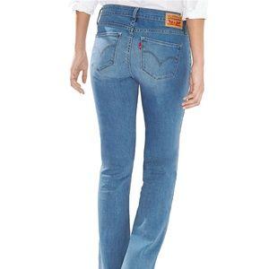 Levi's 815 Denim Curvy Boot Cut Jeans Size 28X32