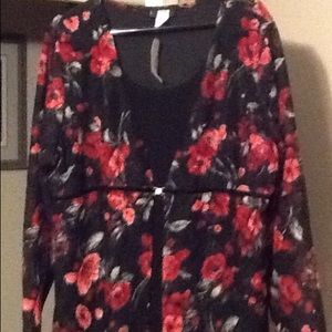 Great one piece shirt/jacket combo NWT