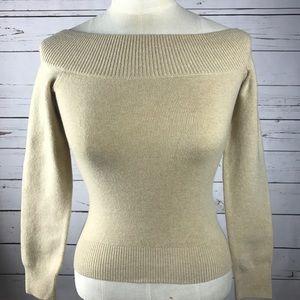 $595 Ralph Lauren black label cashmere sweater XS