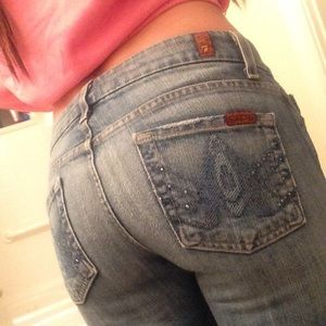 7 for all mankind jeans, size 26