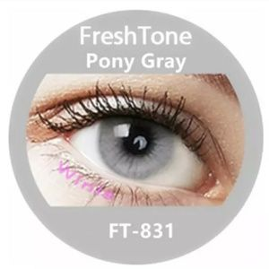 Freshtone Pony Gray eyes Color (1 pair )...