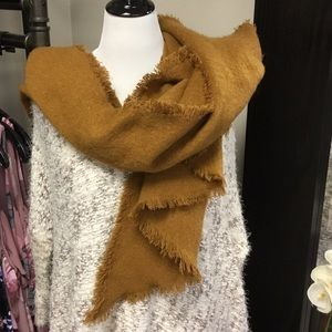 Urban outfitters pumpkin spice scarf