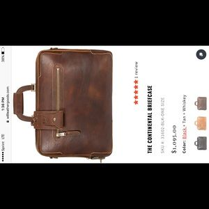 The Continental Briefcase by Will Leather Goods