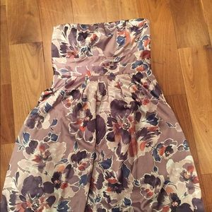 Strapless limited dress size 6