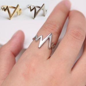 Coming Soon!! Silver Heartbeat EKG Ring