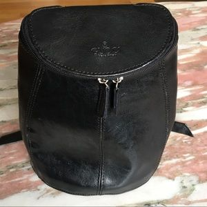 Black Leather Gucci Bag