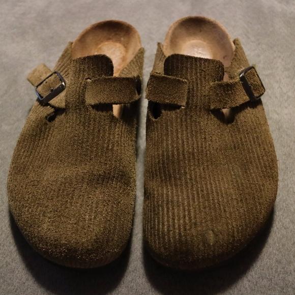 42ae9a80ba0993 Birkenstock Shoes - Birkenstock corduroy 25th Anniversary Boston 39