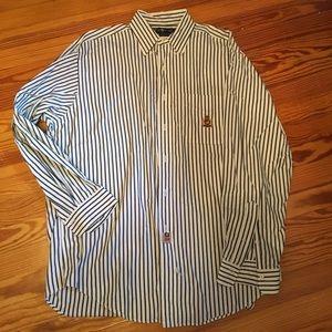 Stripe Button down shirt