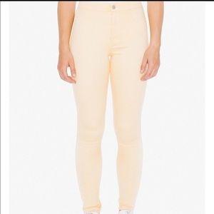 American Apparel Easy Jean - Orange, Size M