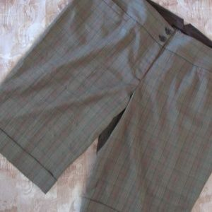 Lane Bryant Brown Gingham Womens Plus 28 Check NEW