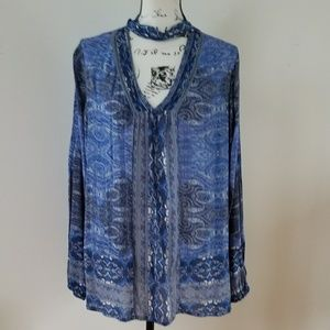 Lucky Brand shirt/tunic