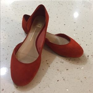 Dolce vita flats orange