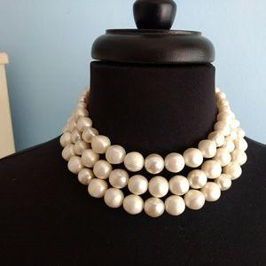 The Quintessential Vintage Lucite Choker Necklace