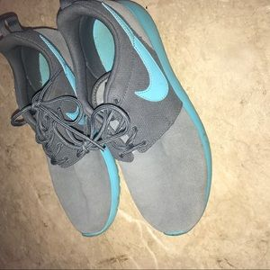 Blue and Grey Nike Rosche