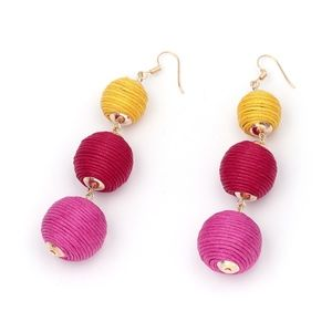 Coming Soon!! Yellow Red & Pink Bon Bon Earrings