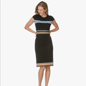 Diane von Furstenberg cap sleeve shift dress