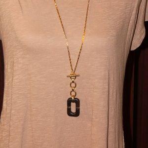 DIANE von FURSTENBERG necklaces Brown Geometric