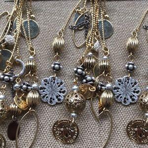 Jewelry - Gold/Silver Hobo Earrings