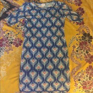 Lularoe Peacock Julia Dress