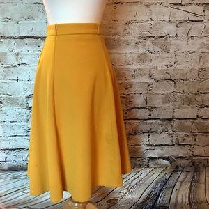Mustard Yellow ASOS Skirt