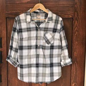 Merona plaid Button Down shirt
