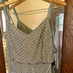 Adrianne Papell Sequins Dress, Size 8