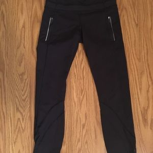 Navy lululemon athletic leggings