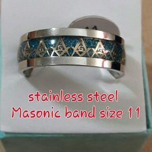 Masonic stainless steel size 11