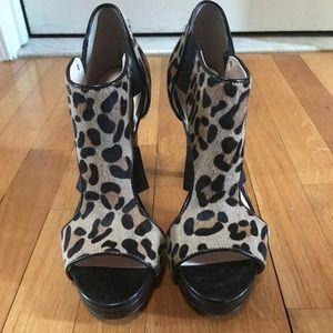 Leapord print Calvin Klein heels