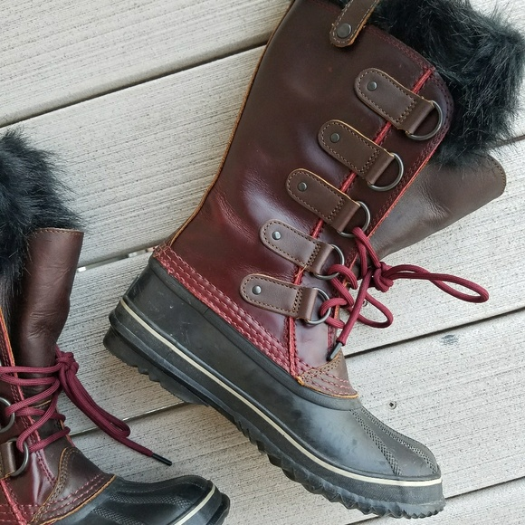 promo code release date really comfortable Sorel Joan of Arctic Premium Stout Leather Boots