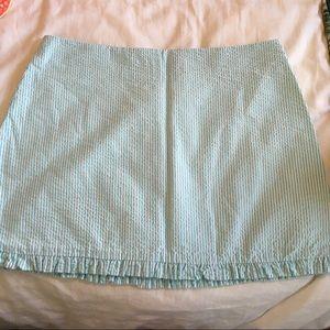 Lilly Pulitzer Seersucker skirt size 2